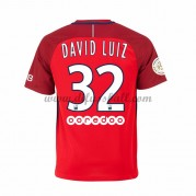 Neues Paris Saint Germain Psg 2016-17 Fussball Trikot David Luiz 32 Kurzarm Auswärtstrikot Shop..